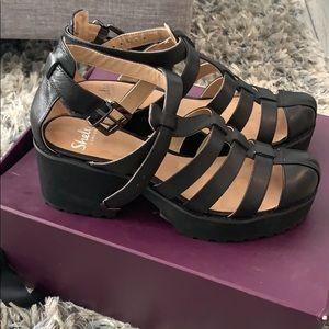 Shelly London platform sandals